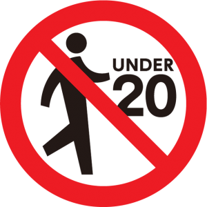 20歳未満の方は立ち入れません。